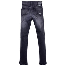Load image into Gallery viewer, Boys Black Skinny Fit Jeans