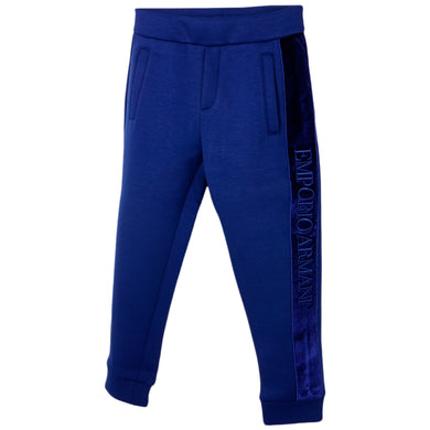 Blue Neoprene Sweat Pants