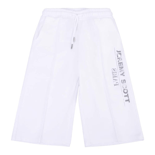 Jeremy Scott Girls Sale White Culotte Sweat Pants