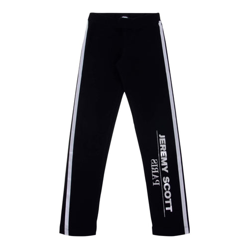 Jeremy Scott Kids Sale Girls Black Leggings