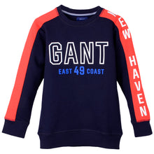 Load image into Gallery viewer, Navy Sweat Top