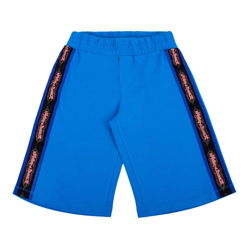Jeremy Scott Boys Sale Blue Tape Sweat Shorts