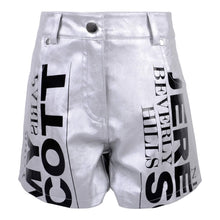 Load image into Gallery viewer, Jeremy Scott Kids Sale Girls Silver Shorts