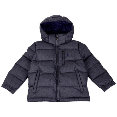 Grey Down Padded Jacket