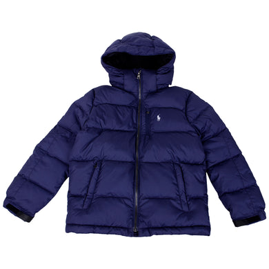 Navy Down Puffer Jacket