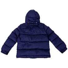 Load image into Gallery viewer, Navy Down Puffer Jacket