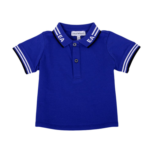 Royal Blue EA Polo Shirt