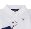White 'My First Oxford Shirt Body'