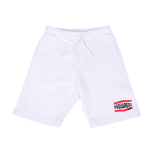 White 1964 Sweat Shorts