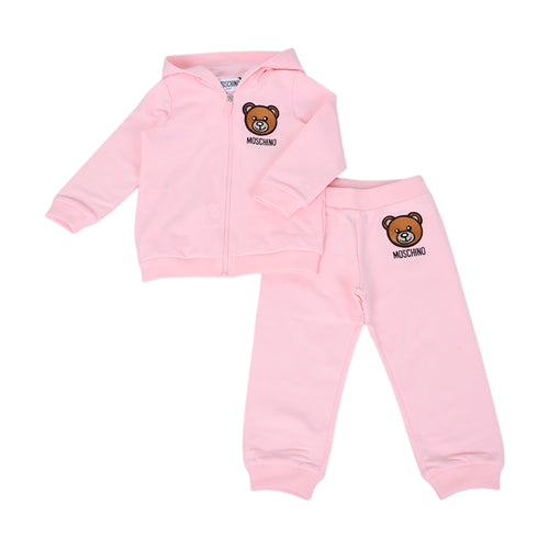 Pale Pink Toy Tracksuit