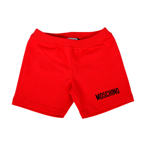 Red Toy Pocket Shorts