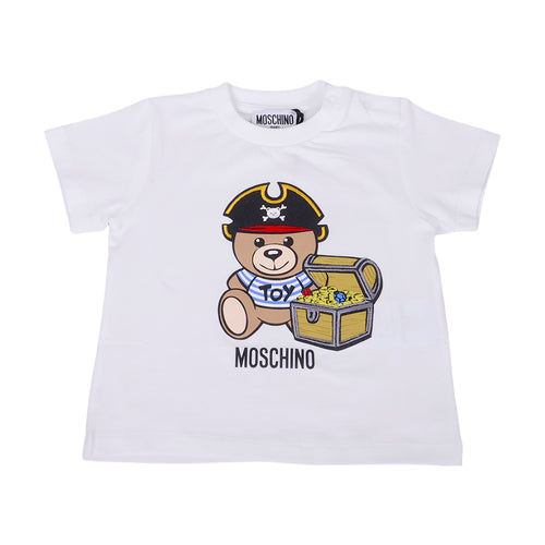White Pirate Toy T-Shirt