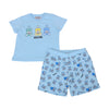 Blue 3 Toy T-Shirt & Shorts Set