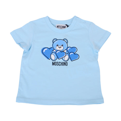 Pale Blue Toy Heart T-Shirt