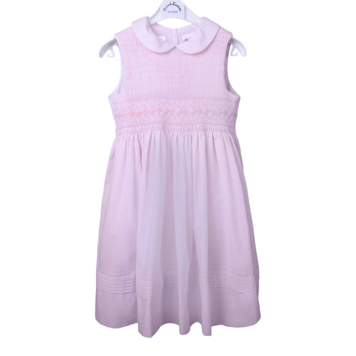 Pink Smock & Bow Dress