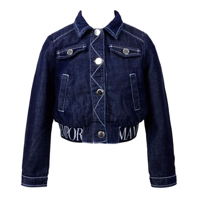 Emporio Armani Sale Girls Denim Jacket