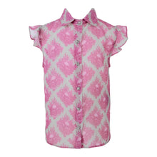 Load image into Gallery viewer, John Richmond Girls Sale Pink Skull Blouse
