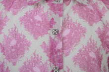 Load image into Gallery viewer, Pink Skull Blouse