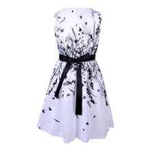 Load image into Gallery viewer, White Floral Occasion Dress