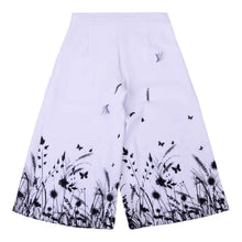 Load image into Gallery viewer, White Floral Culottes