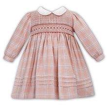 Load image into Gallery viewer, Pink Smock Check Dress