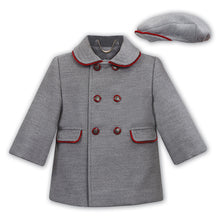 Load image into Gallery viewer, Grey Coat & Hat Set