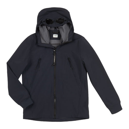 Navy Soft Shell Zip Up Hoodie