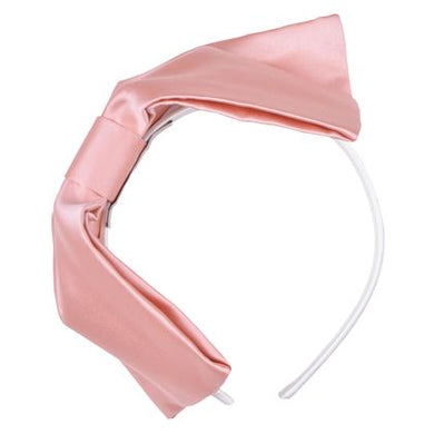 Hucklebones Sale Pink Satin Bow Headband