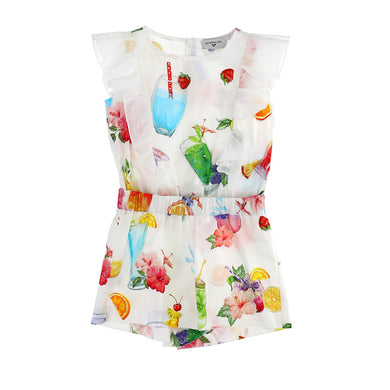 Summer Print Playsuit