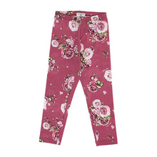 Load image into Gallery viewer, Pink Floral Leggings