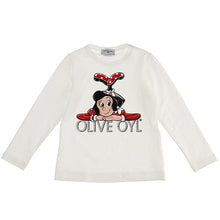 Load image into Gallery viewer, Ivory Olive Oyl Top