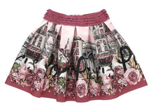 Load image into Gallery viewer, Pink Neoprene Paris Skirt