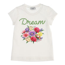 Load image into Gallery viewer, Ivory Dream Flower T-Shirt