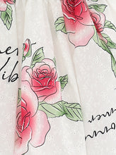 Load image into Gallery viewer, White Rose 'Summer Vibes' Skirt