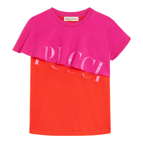 Red & Pink Pucci T-Shirt