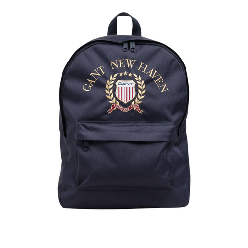Navy Crest Backpack