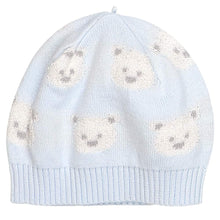 Load image into Gallery viewer, Pale Blue Teddy 1pc & Hat