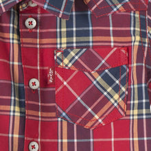 Load image into Gallery viewer, Red Checked Shirt