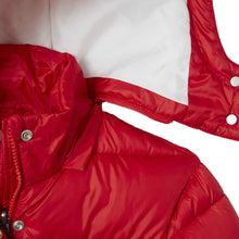Load image into Gallery viewer, Girls Red Puffer Jacket