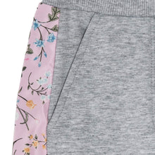 Load image into Gallery viewer, Grey Floral Sweat Pants