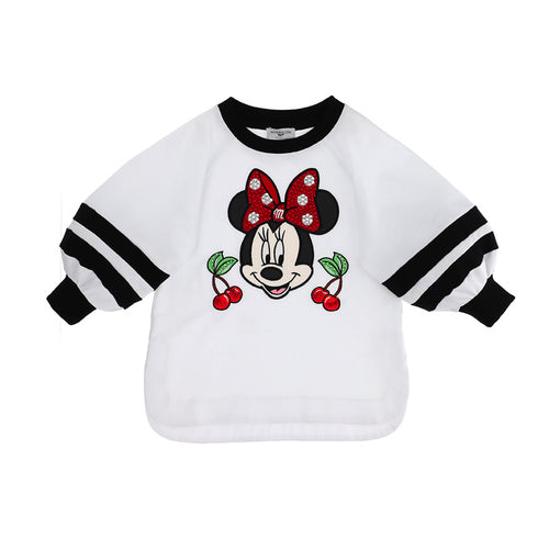 White Minnie Mouse Tunic Sweat