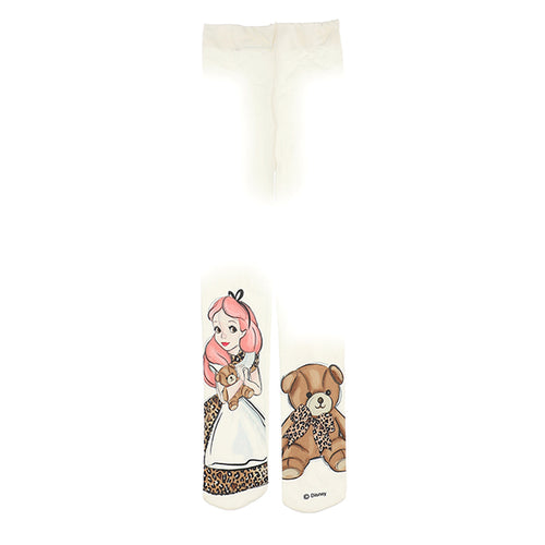 Ivory Alice & Teddy Tights