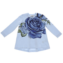 Load image into Gallery viewer, Blue Rose Maxi Top