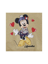 Load image into Gallery viewer, Gold Glitter Minnie Hoodie