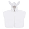 Ivory Hooded Rabbit Cape Towel