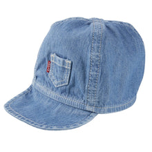 Load image into Gallery viewer, Blue Chambray Baby Cap