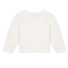 Load image into Gallery viewer, White Knitted Cardigan