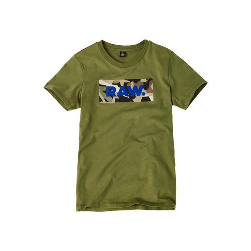G-Star Raw Boys Sale Khaki Raw T-Shirt