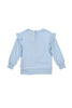 Baby Girls Blue Sweat Top