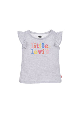 Grey 'Little Levi's' T-Shirt